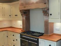 Freestanding Kitchen Units with Integrated Cooker