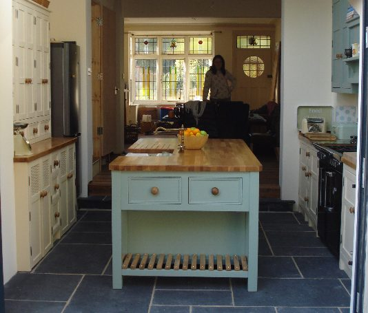 C Kitchens Ltd: Jill And Jamie's Custom Sized Kitchen, Matching Wall And