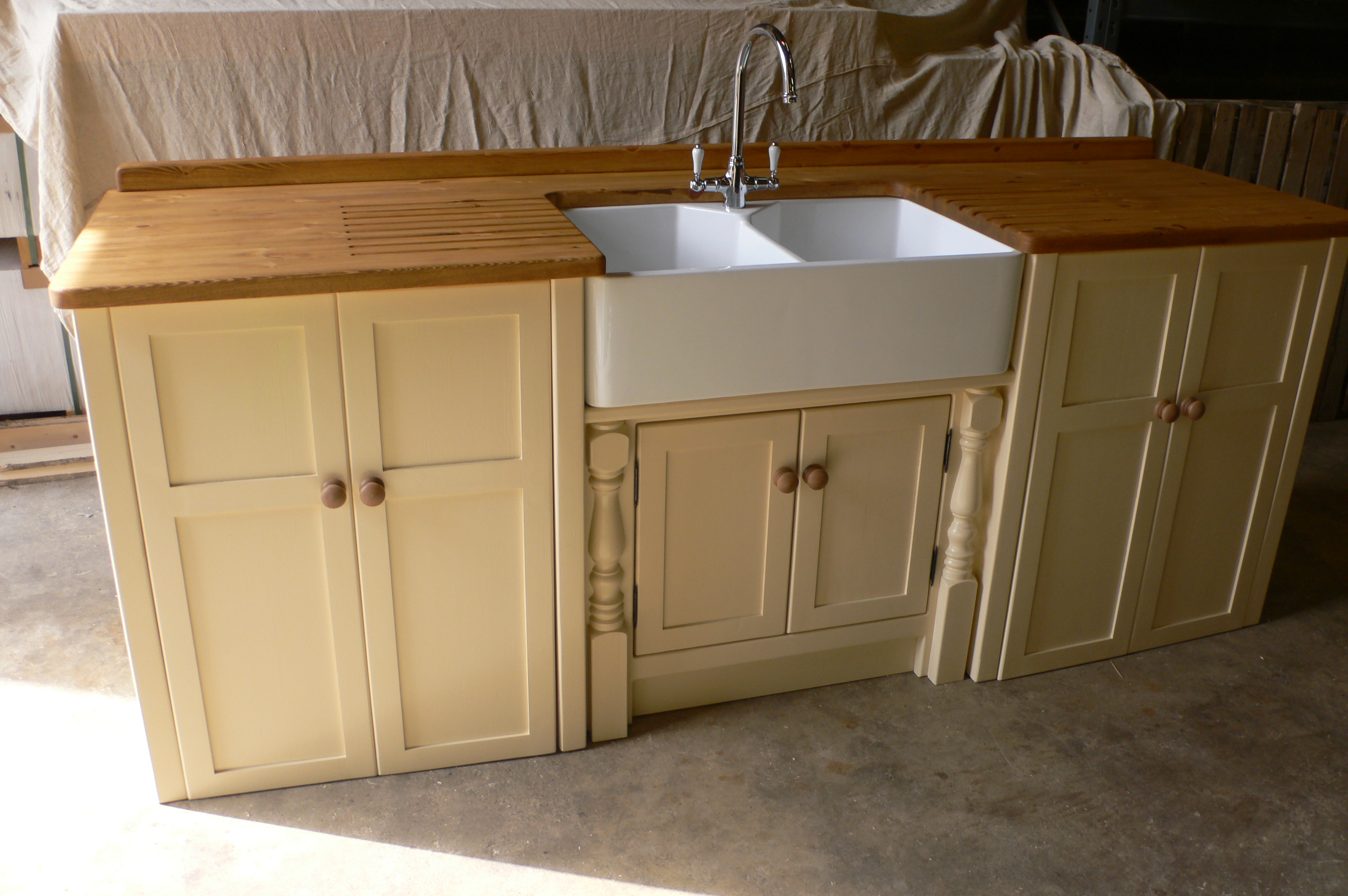 Double Butler Sink And Appliance Unit The Olive Branch