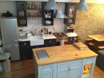 Kitchen Island with Griddle