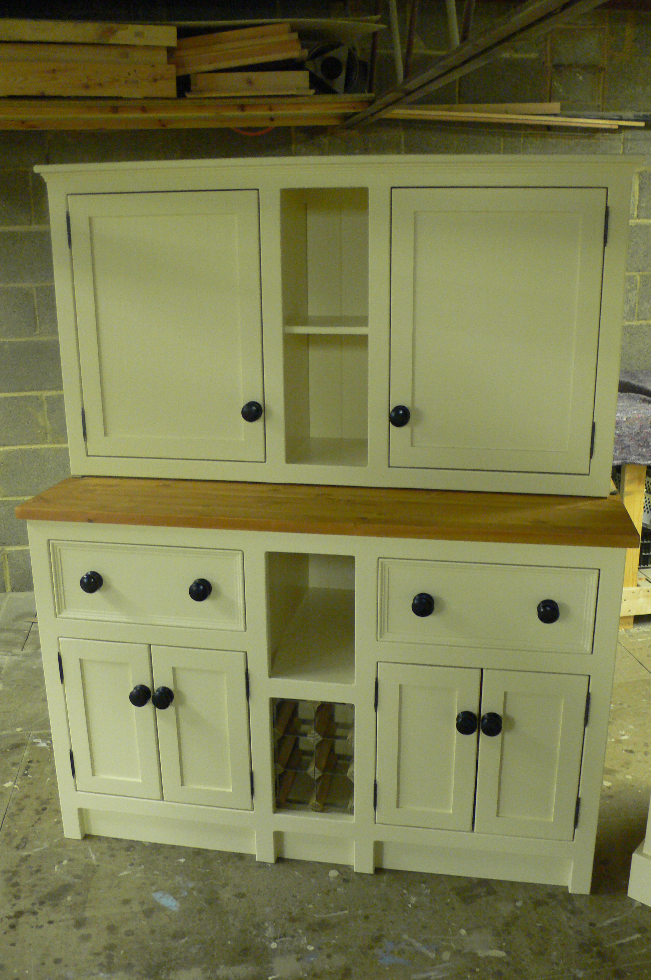 Long Base Unit With Top Unit The Olive Branch Kitchens