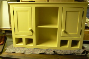 Olive Branch wine holder top unit freestanding kitchen furniture