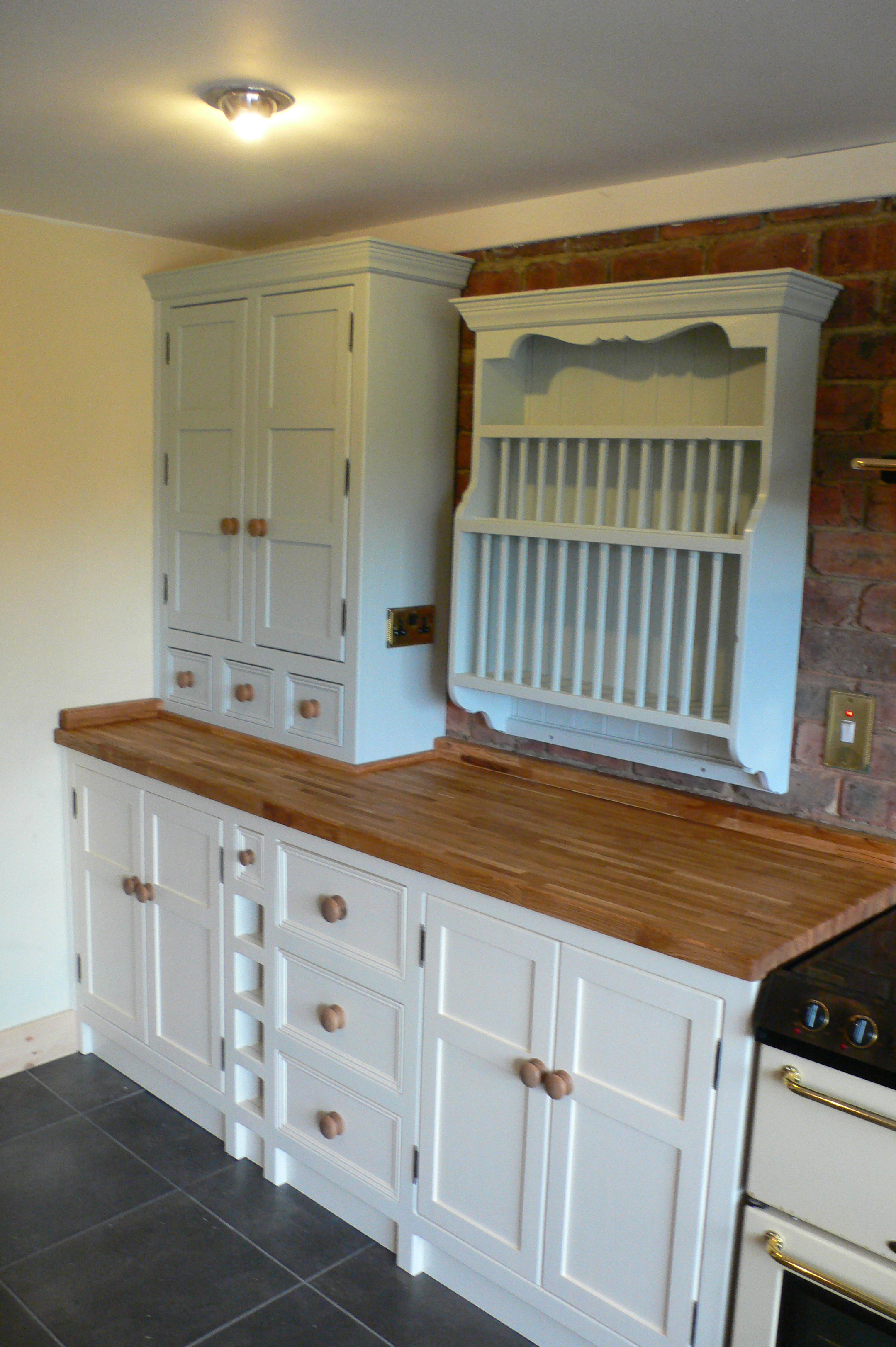 Kitchen In Aberford Belfast Sink Plate Rack The Olive