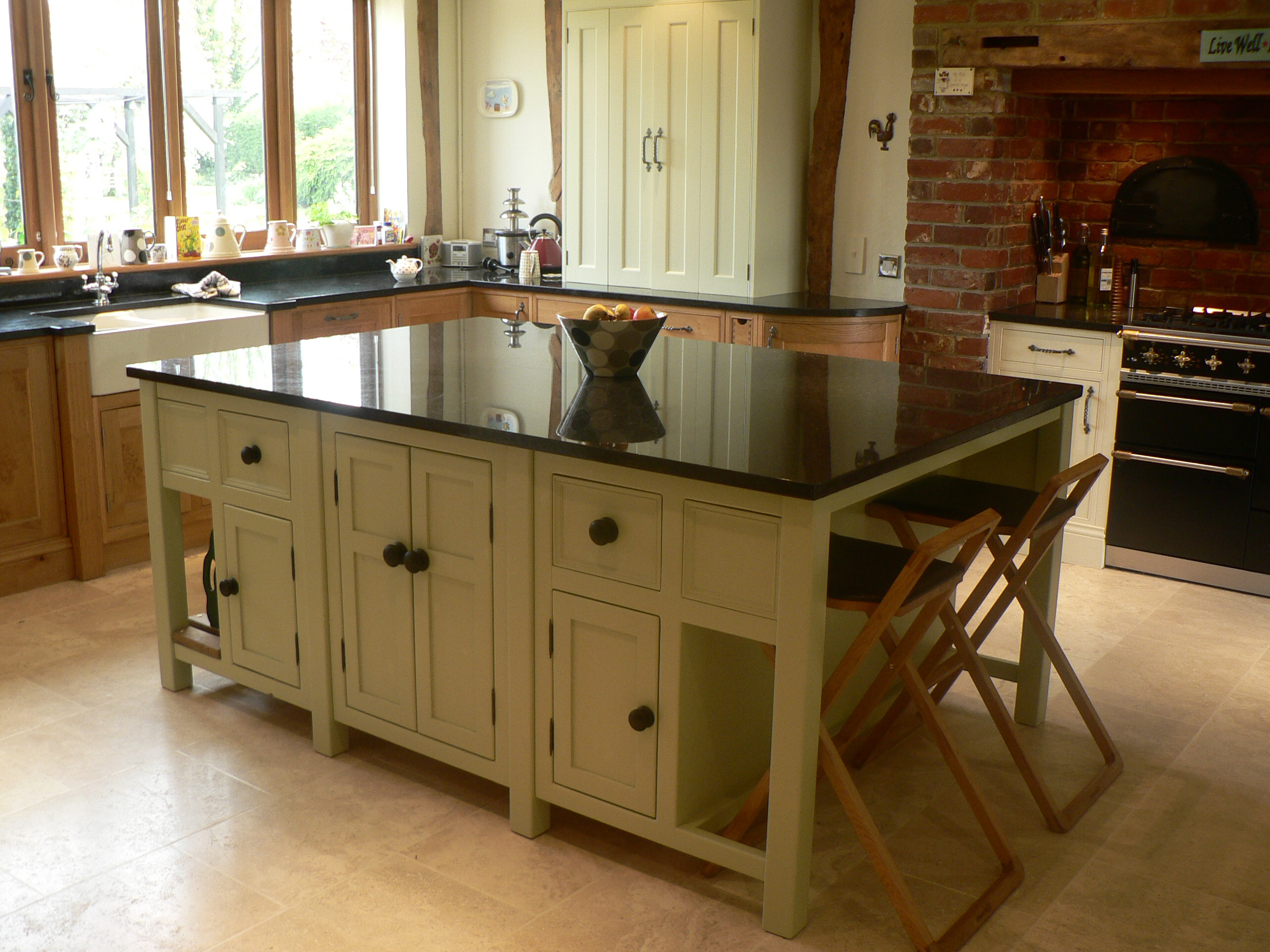kitchen island with seating space the olive branch