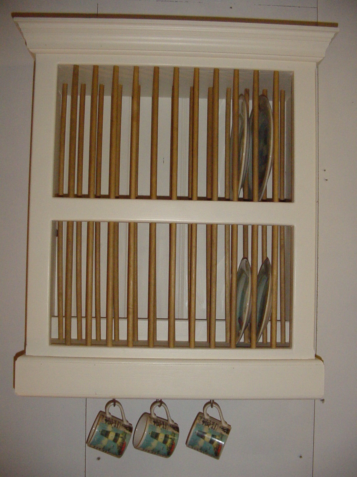 Tu4 Painted Plate Rack The Olive Branch Ltd The Olive