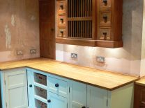 Saddleworth Pine Kitchen With Belfast Sink