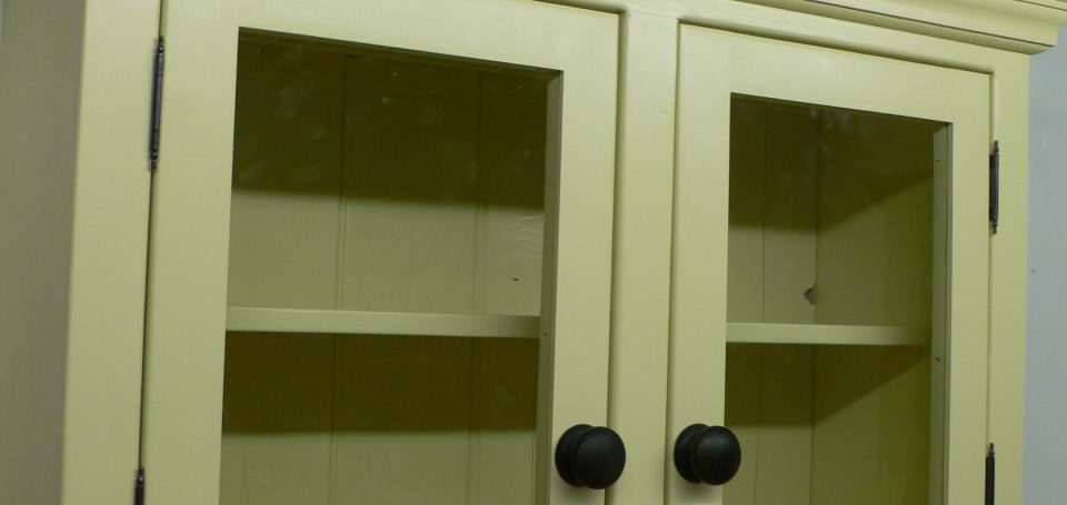 TU6 Glazed Top Cupboard