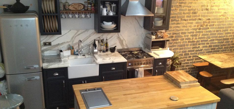 Free Standing Kitchen Units | Belfast Sink Unit | Larder Units - The ...