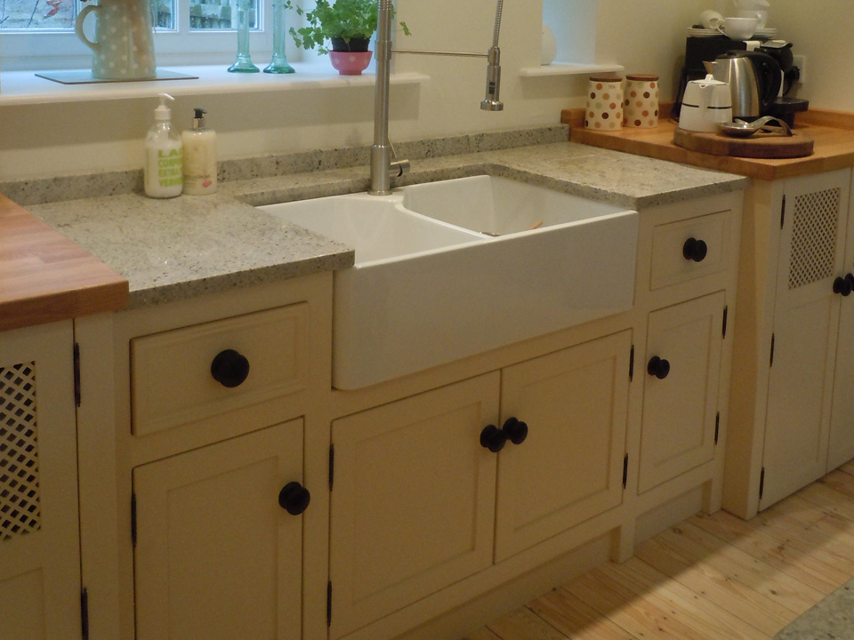 Double Butler Sink and Appliance Unit