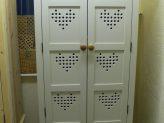 L10 Heart Motif Kitchen Store Cupboard